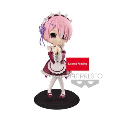 Re:Zero Starting Life in Another World Q Posket Mini Figure Ram Ver. B 14 cm