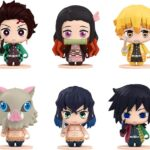 Demon Slayer Kimetsu no Yaiba Pocket Maquette Mini Figures 6-Pack 01 5 cm