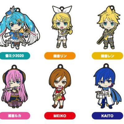 Miku Nendoroid Plus Keychain Band Together