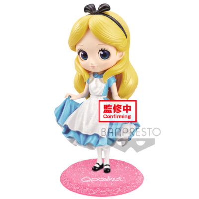 Alice in Wonderland Glitter Q Posket