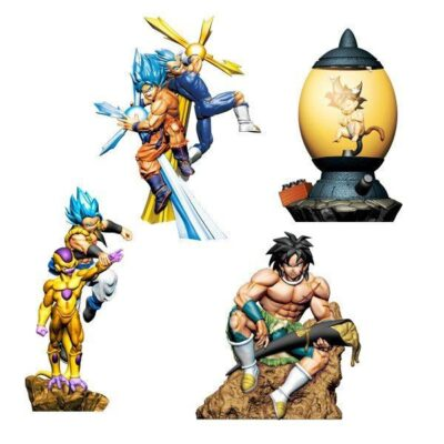 Dragon Ball Super Dracap Trading Figures