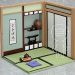 Nendoroid Playset Japanese Life Set B – Guestroom Set c