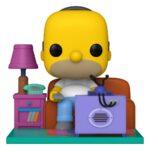 Simpsons POP! Deluxe Vinyl Figure Homer Watching TV 18 cm