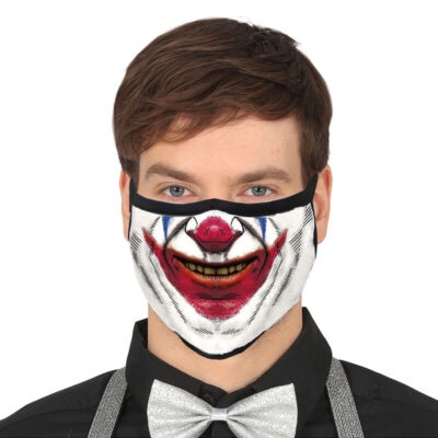 Clown Smile Reusable Face Mask