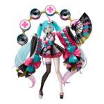 Vocaloid PVC Statue Miku Hatsune Magical Mirai 2020 Natsumatsuri Ver. 23 cm