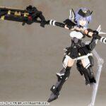 Frame Arms Girl Plastic Model Kit Shiki Rokkaku 15 cm f