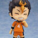 Haikyu!! Nendoroid Action Figure Yu Nishinoya 10 cm c