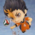 Haikyu!! Nendoroid Action Figure Yu Nishinoya 10 cm d