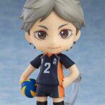 Haikyu!! Third Season Nendoroid Action Figure Koushi Sugawara 10 cm b