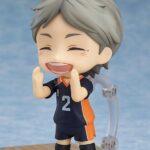 Haikyu!! Third Season Nendoroid Action Figure Koushi Sugawara 10 cm d