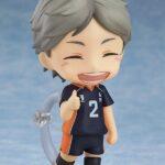 Haikyu!! Third Season Nendoroid Action Figure Koushi Sugawara 10 cm e
