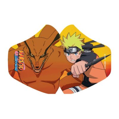 Naruto Face Mask Naruto and Kurama