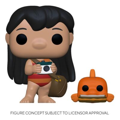 Lilo with Pudge Vinyl Figure