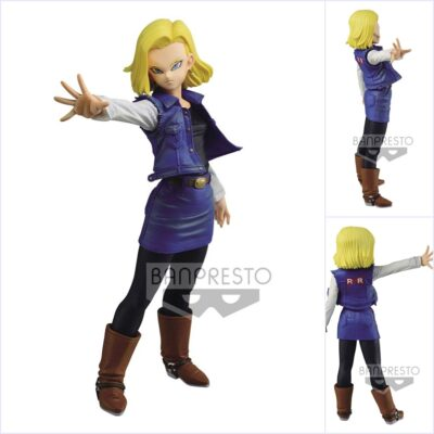 Match Makers Android 18 Figure