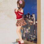The Idolmaster Cinderella Girls PVC Statue Miku Maekawa Off Stage Bonus Edition 23 cm d