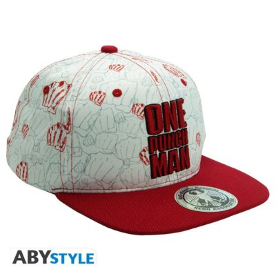 One Punch Man Snapback Cap Punches