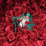 Character Vocal Series PVC Statue Miku Hatsune World is Mine Brown Frame 22 cm f