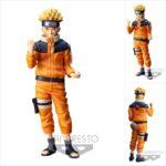 Naruto Shippuden Grandista nero Figure Uzumaki Naruto #2 23 cm