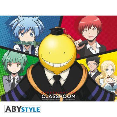 Assassination Classroom Poster Koro VS pupils