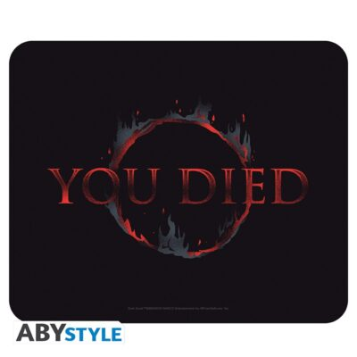 Dark Souls You Died Mouse Pad