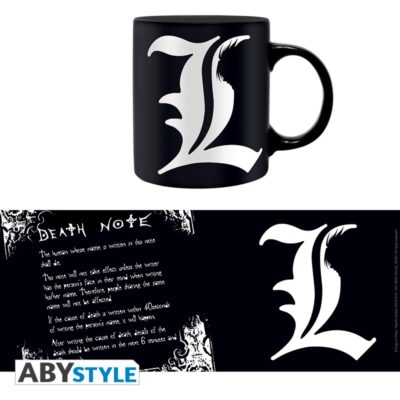 L and Death Note Rules Mug
