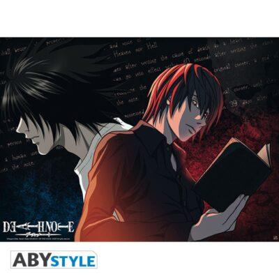 Death Note Poster L VS Light