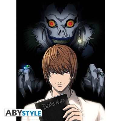 Death Note Light and Ryuk Poster