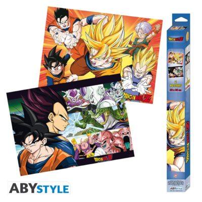 Dragon Ball Saiyans Posters
