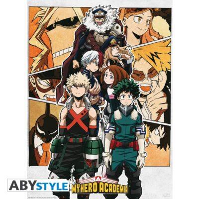 My hero Academia Group Poster