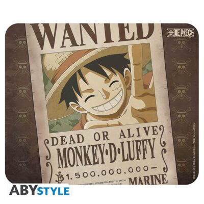 Luffy Wanted Mouse Pad