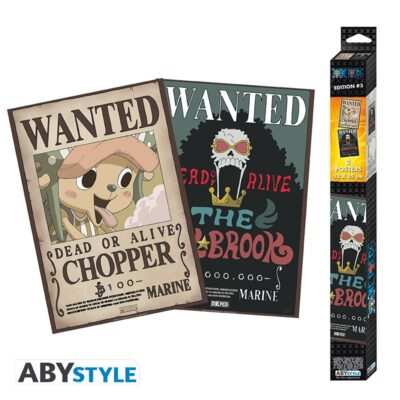 Wanted Brook and Chopper Posters