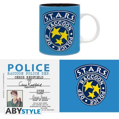 Resident Evil Police Badge Mug