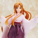 Sword Art Online Alicization Coreful PVC Statue Asuna Japanese Kimono Ver. 20 cm b