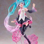 Vocaloid AMP PVC Statue Hatsune Miku Birthday 2021 Happy Cat ver. 23 cm c