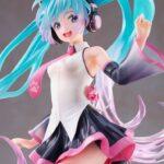 Vocaloid AMP PVC Statue Hatsune Miku Birthday 2021 Happy Cat ver. 23 cm e
