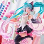 Vocaloid AMP PVC Statue Hatsune Miku Birthday 2021 Happy Cat ver. 23 cm h