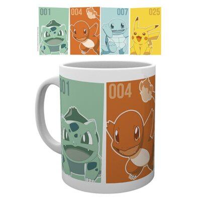 Pokémon Mug Starters