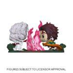 Demon Slayer POP Moment! Vinyl Figures 2-Pack Tanjiro vs. Rui 9 cm