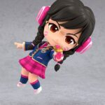 Overwatch Nendoroid Action Figure D.Va Academy Skin Edition 10 cm d