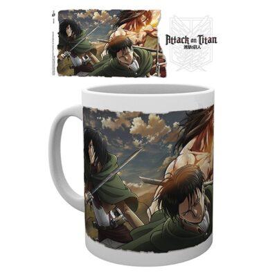 Attack on Titan Mug Scouts
