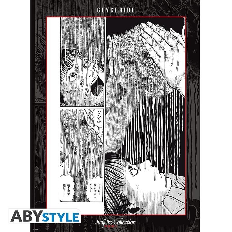 Junji ito Poster Glyceride