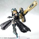 Megami Device Plastic Model Kit Bullet Knights Exorcist Widow 15 cm d