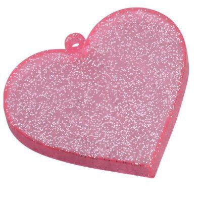 Nendoroid Heart Base Pink Glitter