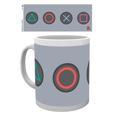 PlayStation Mug Buttons