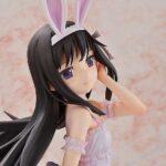 Puella Magi Madoka Magica The Movie Rebellion PVC Statue Homura Akemi Rabbit Ears Ver. 42 cm g