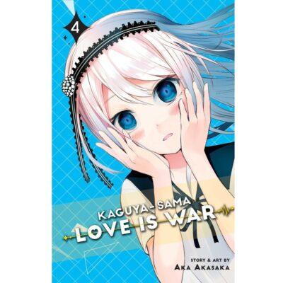Kaguya-sama Love Is War Vol 4