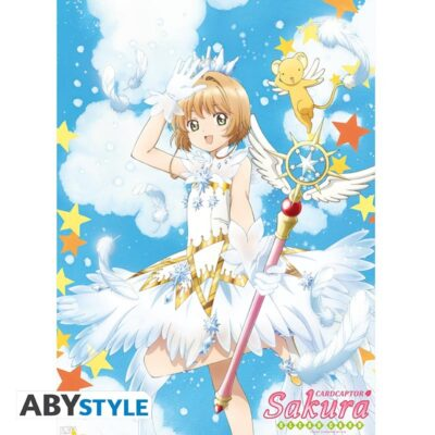 Cardcaptor Sakura with Wand Poster