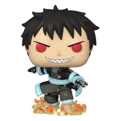 Fire Force Shinra with Fire POP! Vinyl