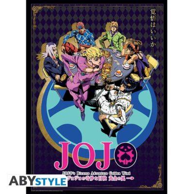 Jojo's Bizarre Adventure Golden Wind Poster
