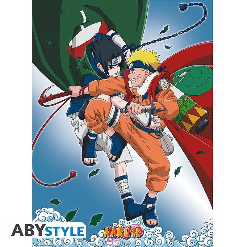 Naruto Vs Sasuke Poster